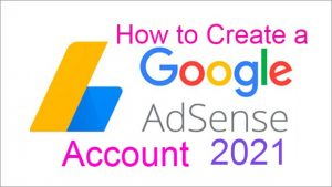 How to create a Google Adsense Account Sinhala