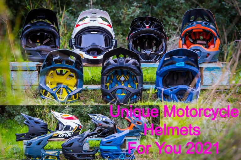 Unique Motorcycle Helmets For You 2021
