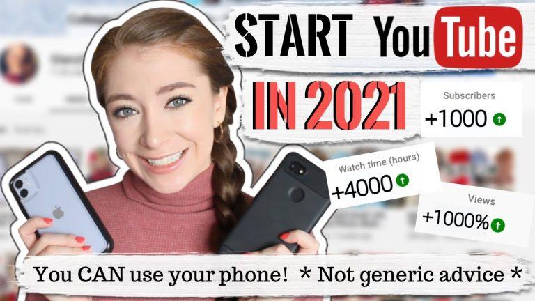 2021 දී ඔබගේ යූ ටියුබ් චැනල් ඉඟි සහ උපක්රම ආරම්භ කරන්නේ කෙසේද?